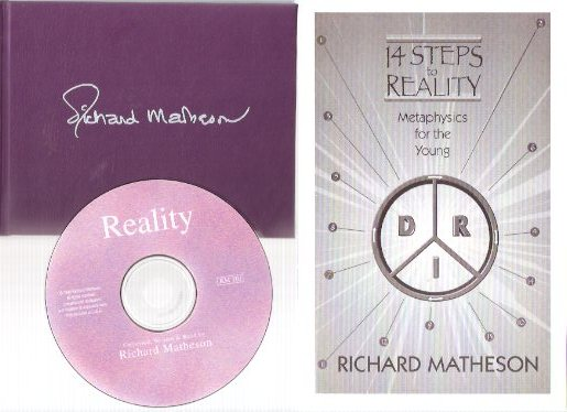 Image for Richard Matheson:  A Primer of Reality ---with  Reality ( a CD of RM ) ---with 14 Steps to Reality:  Metaphysics for the Young ----3 Items -PRIMER is Signed