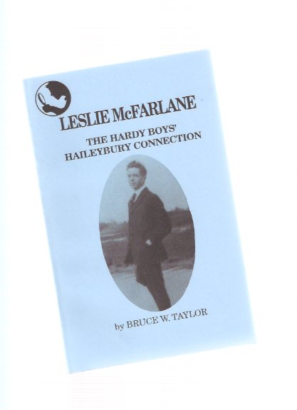 Image for Leslie McFarlane:  The Hardy Boys' Haileybury Connection