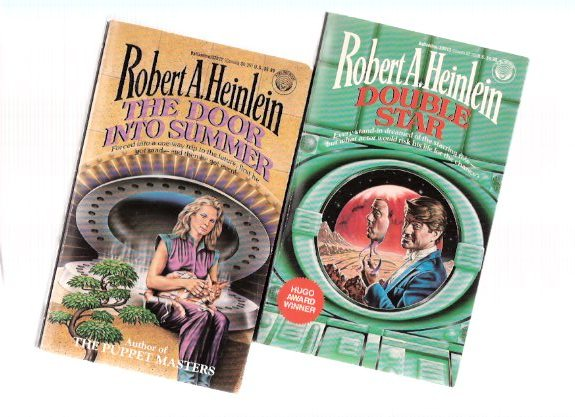 Image for Robert A Heinlein books ( Slipcased ) Science Fiction:  The Puppet Masters ---with Waldo and Magic ---with Double Star ---with The Door Into Summer ---4 Volumes  in a Slipcase ( Box / Boxed Set )