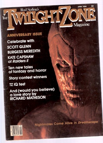 Image for Twilight Zone Magazine, March / April 1984