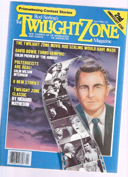 Image for Twilight Zone Magazine, March / April 1983