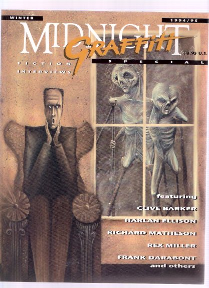 Image for Midnight Graffiti, Special 1994 (includes:  Clive Barker Interviewd By Harlan Ellison; Rex Miller Interviewd By t Winter Damon; Richard Matheson Interviewed By Paul Sammon; etc)