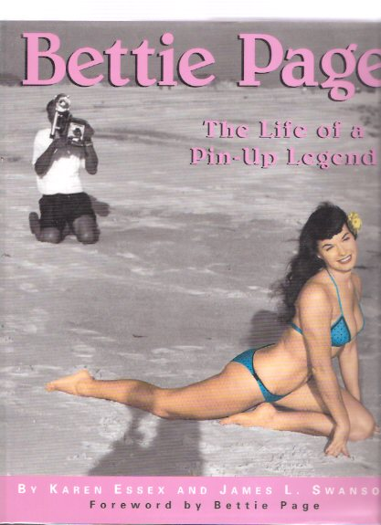 Image for Bettie Page:  The Life of a Pin-Up Legend --Signed By Bettie Page ( Betty Page )