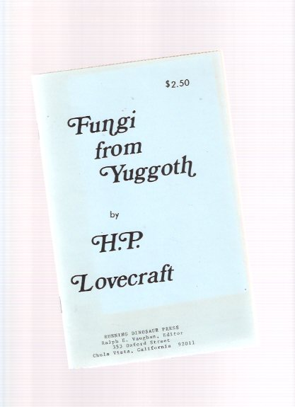 Image for Fungi from Yuggoth -by H P Lovecraft