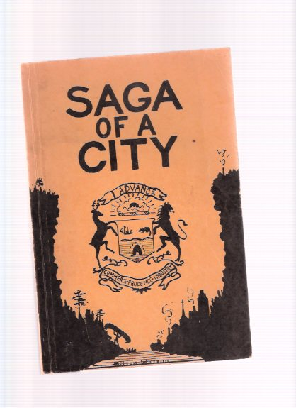 Image for Saga of a City:  330 Years of Progress in Hamilton ( Ontario )