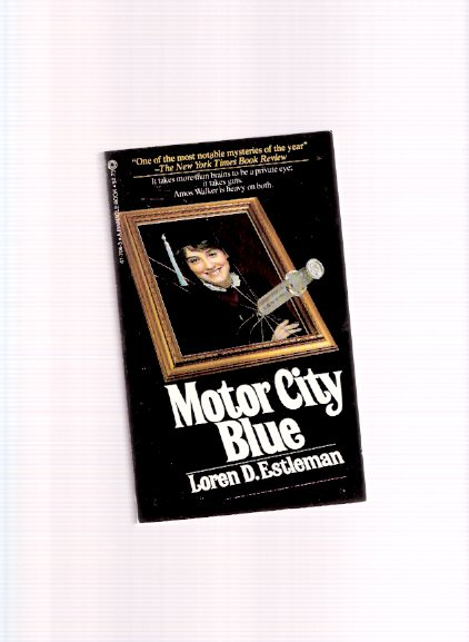 Image for Motor City Blue -an Amos Walker Mystery ---a Signed Copy