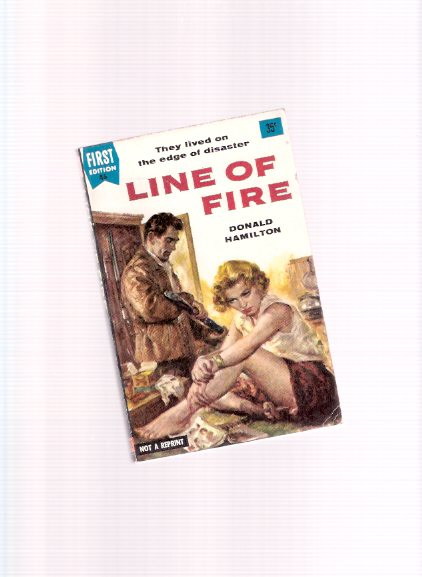 Image for Line of Fire -by Donald Hamilton