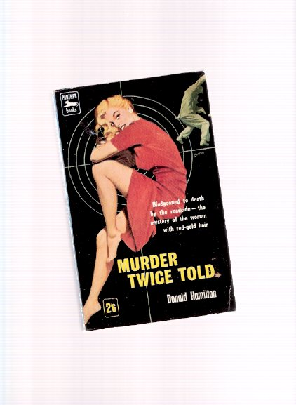 Image for Murder Twice Told (contains:  Deadfall and The Black Cross ) ( UK Panther edition)