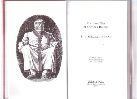 Image for The Speckled Band: The Case Files of Sherlock Holmes (volume 2 of the series)