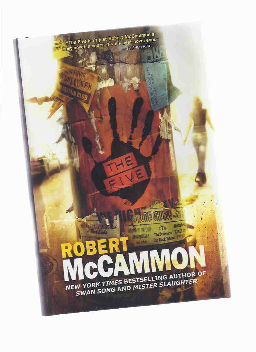Image for The Five  ---by Robert McCammon -a Signed, Numbered, Slipcased, Limited Edition copy  ( Slipcase / Boxed edition)( Box )( 5 )