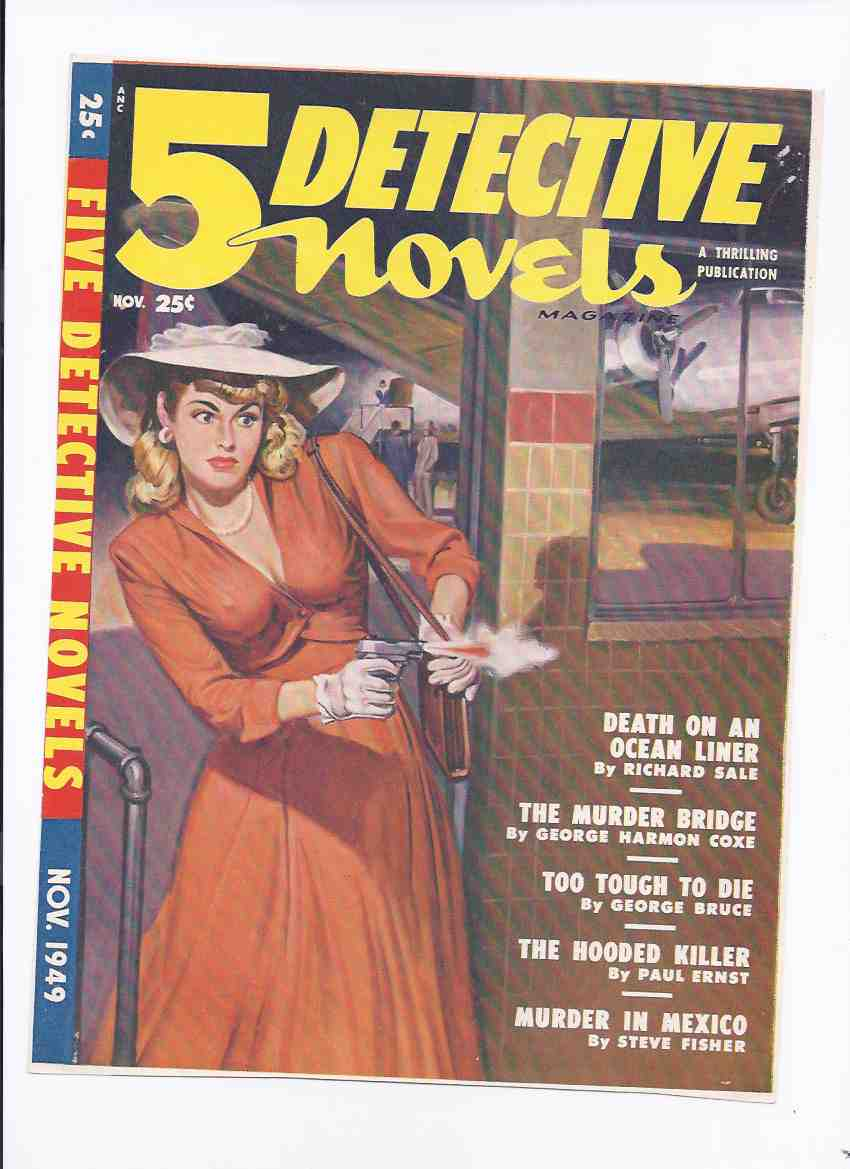 Image for Belarski:  Pulp Art Masters Series By Adventure House ---a Signed Limited Edition, one of 26 copies ---with Cover Proof for the November 1949 Pulp 5 Detective Novels