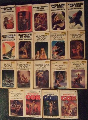 Image for 19 Volumes of Gor : Tarnsman Outlaw Priest-Kings Nomads Assassin Raiders Captive Hunters Marauders Tribesmen Beasts Explorers Fighting Slave Rogue Savages Players Mercenaries Dancer Renegades - 19 Volumes Tarl Cabot / Counter Earth Chronicles