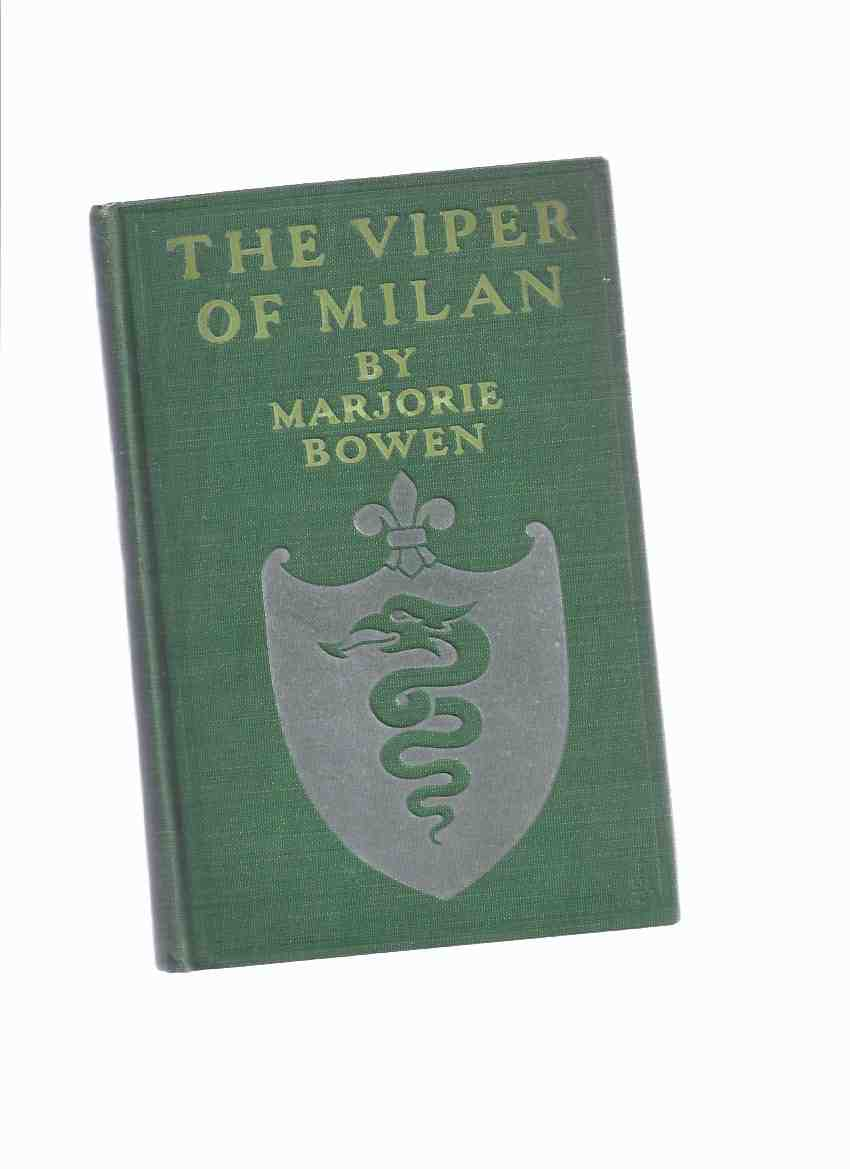 Image for The Viper of Milan -by Marjorie Bowen