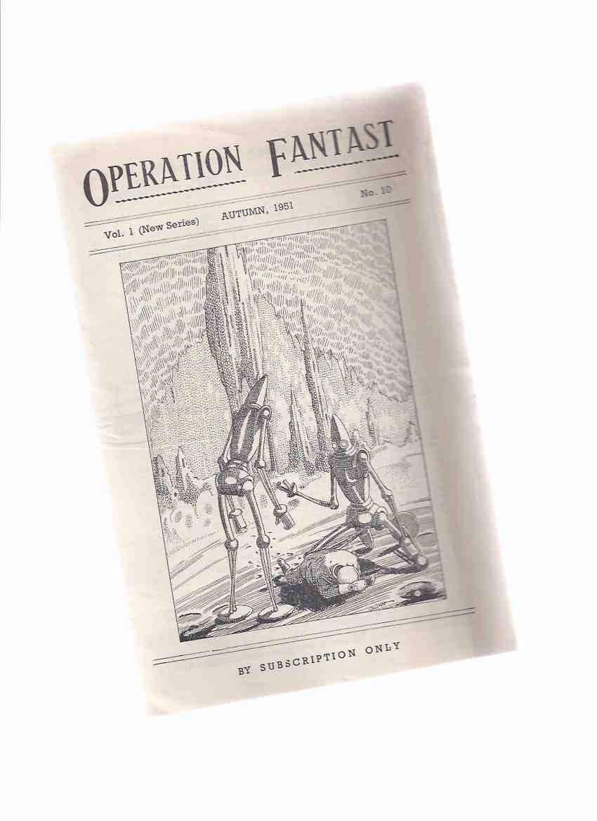 Image for Operation Fantast, Volume 1 (new series), # 10, Autumn 1951  ( SF / Science Fiction Fantasy Fanzine )
