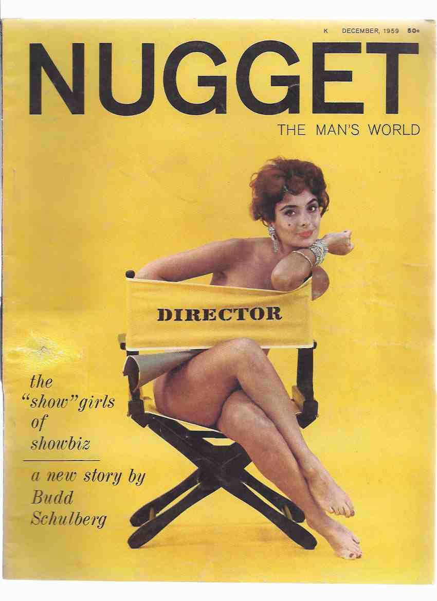 Image for Nugget:  The Man's World, December 1959 ( Men's Magazine )(includes:  Mrs Bixby and the Colonel's Coat By Roald Dahl )