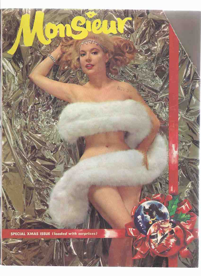Image for Monsieur: Special XMAS Issue, Volume 3, # 1, January ( 1960 ) ( Men's Magazine )