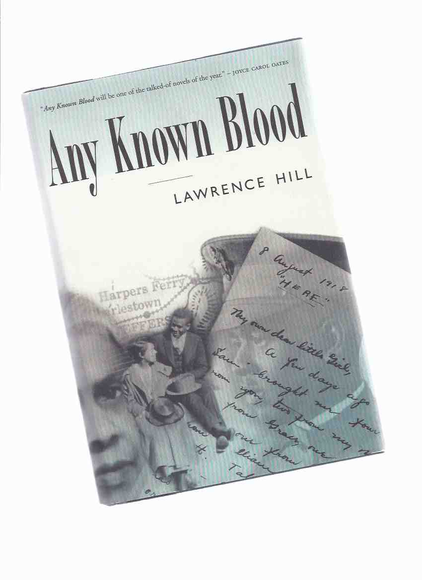 Image for Any Known Blood -by Lawrence Hill ---a Signed Copy