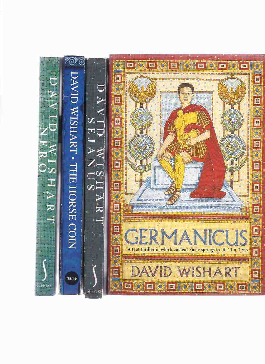 Image for Germanicus ---with Sejanus ---with The Horse Coin ---with Nero ---4 Volumes ( two are Marcus Corvinus mysteries)