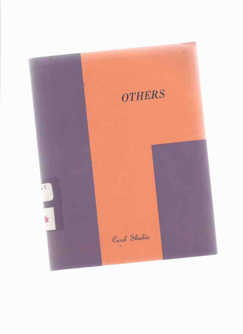 Image for Others:  Carol Shields (author's first book -Poetry / Poems )