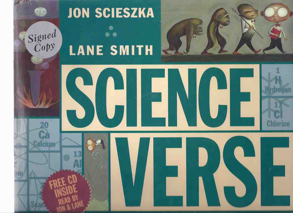 Image for Science Verse ---a Signed Copy --- with a CD with Jon Scieszka and Lane Smith Reading