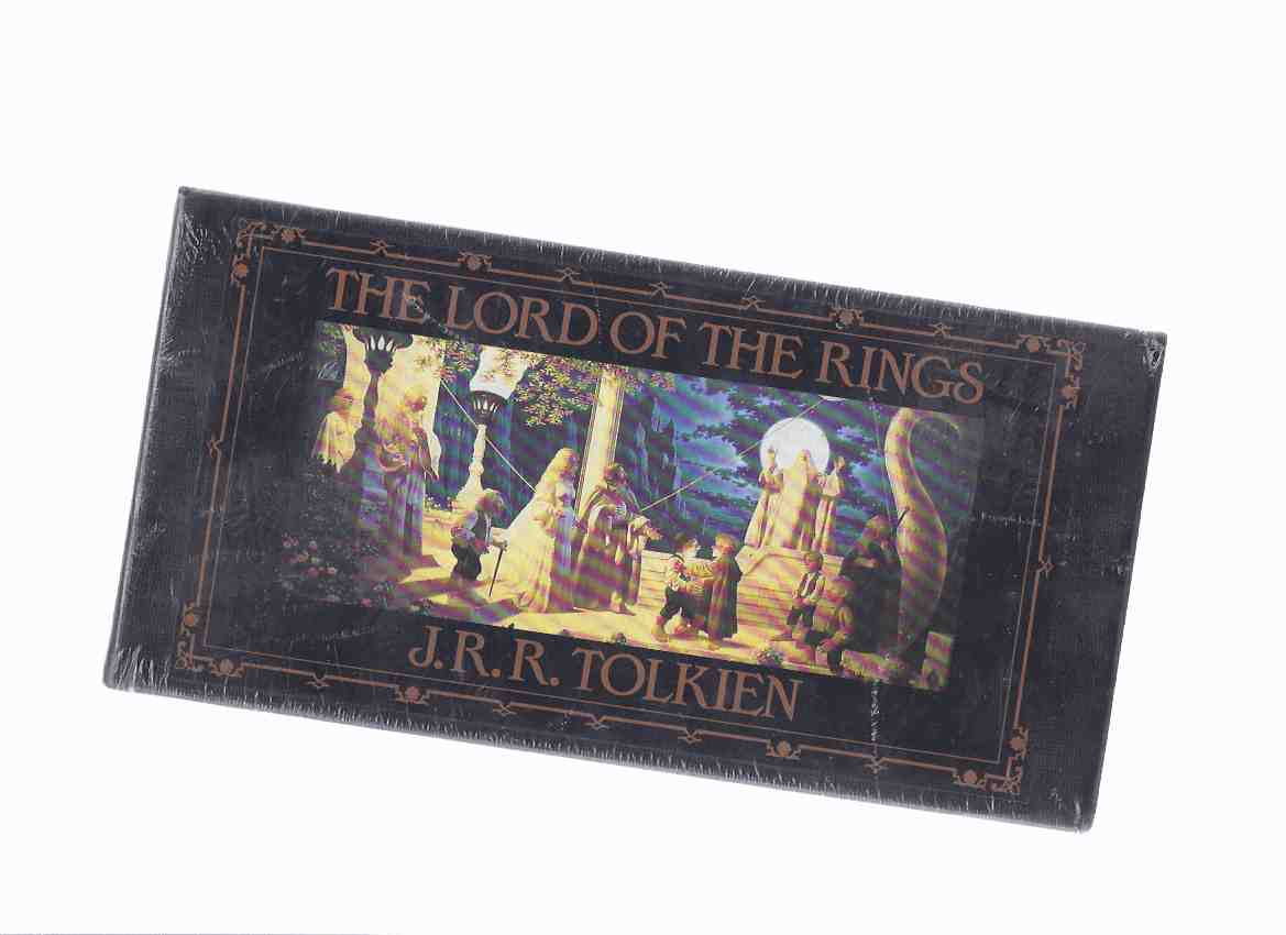 Image for The Lord of the Rings:  J R R Tolkien -13 Hours on Cassette, BBC Production Starring Ian Holm and a Cast of 25 Performers (includes Keepsake Brochure -an Unopened, as New Set, Still in Shrinkwrap )