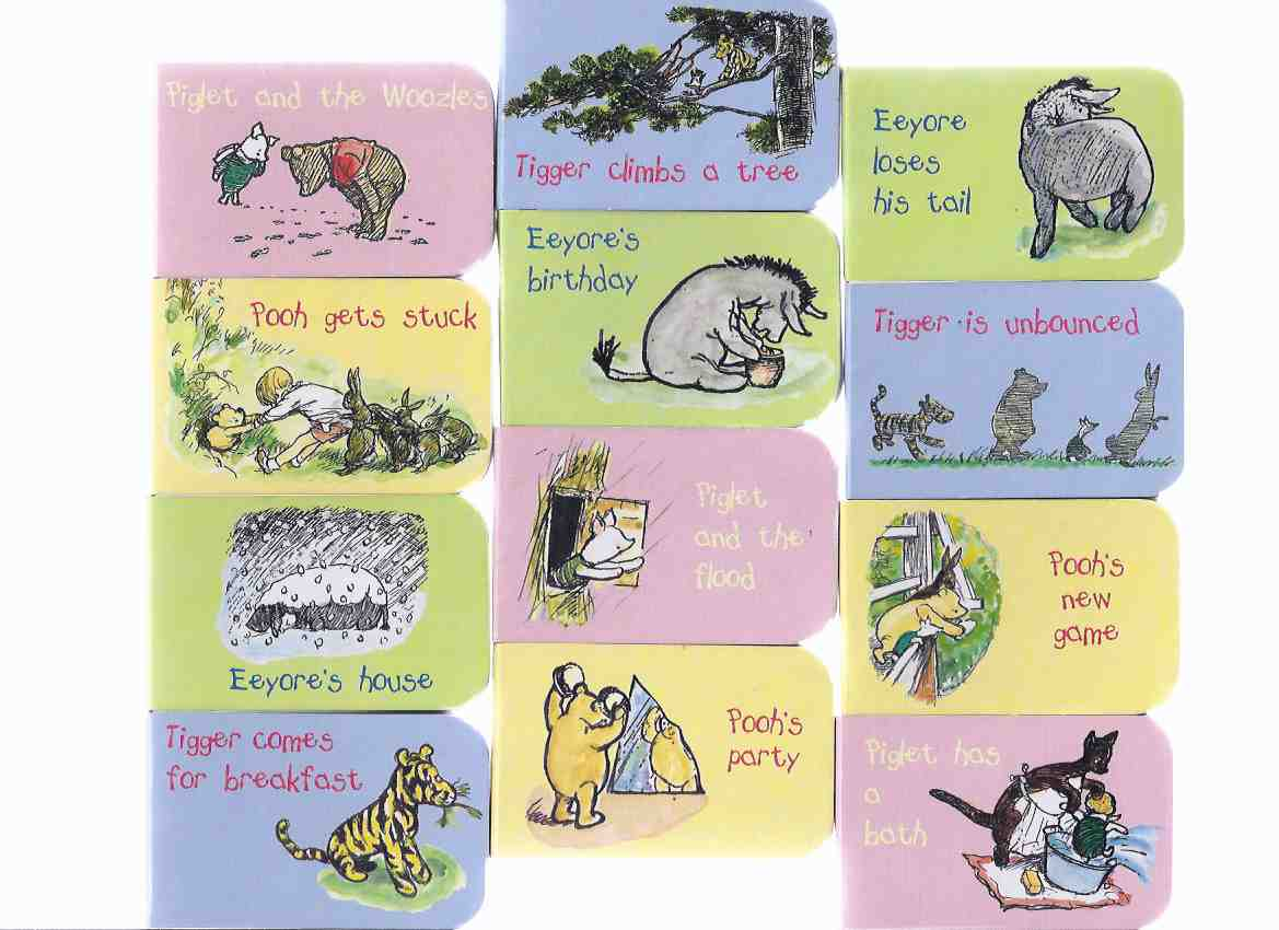 Image for Winnie-the-Pooh Selection Box ( Pooh's Party; Eeyore's Birthday; Piglet & the Woozles; Tigger is Unbounced; Pooh Gets Stuck; Eeyore Loses His Tail; Piglet Has a Bath; Tigger Climbs a Tree; Eeyore's House; Piglet and the Flood; Tigger Comes for Breakfast )