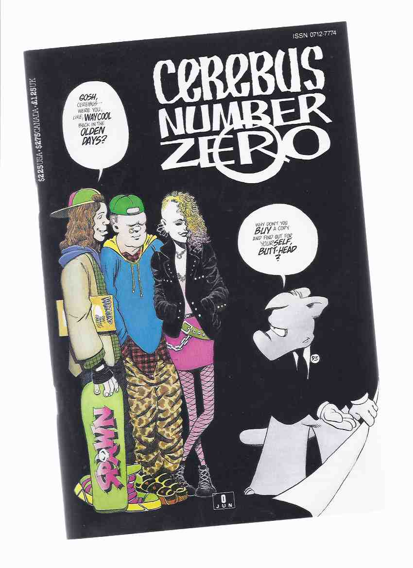 Image for Cerebus the AARDVARK:  Cerebus Number Zero ( # 0 )