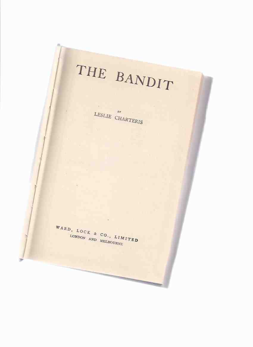 Image for The Bandit -by Leslie Charteris