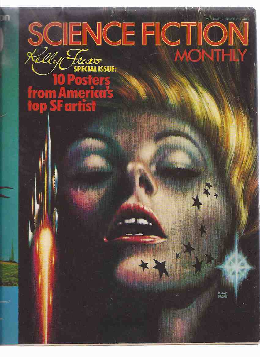 Image for Science Fiction Monthly, Volume 3, # 2 ---KELLY FREAS Special Issue with 10 Posters from America's Top SF Artist ( Frank )