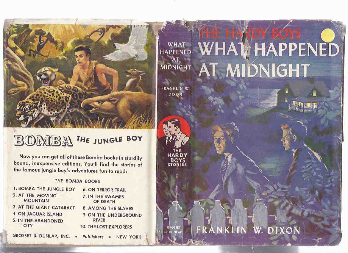Image for What Happened at Midnight # 10:  The Hardy Boys Mystery Series   ( Grosset and Dunlap Edition in Dustjacket )