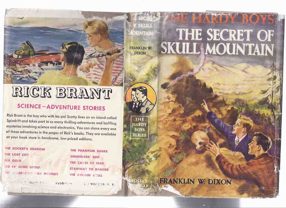 Image for The Secret of Skull Mountain # 27:  The Hardy Boys Mystery Series   ( Grosset and Dunlap Edition in Dustjacket )