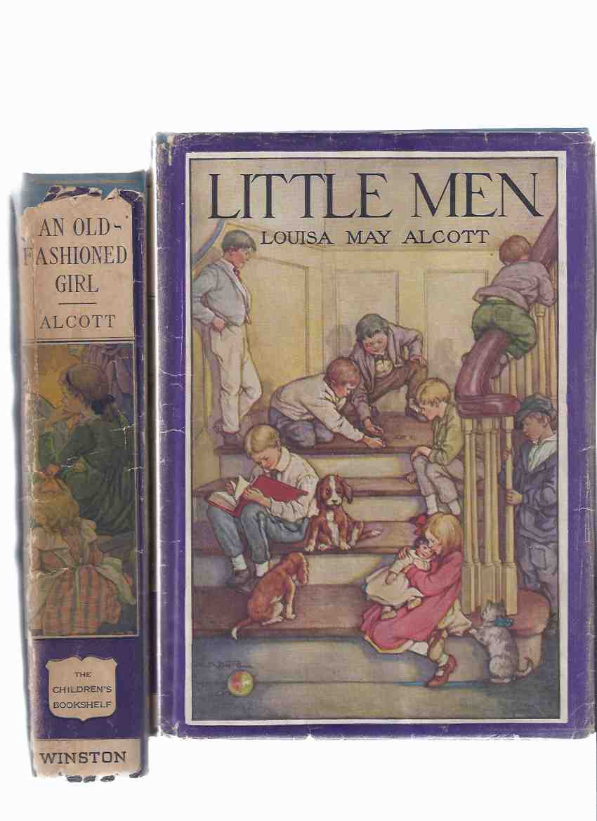 Image for Eight Cousins, or The Aunt-Hill ---with Little Men, Life at Plumfield with Jo's Boys, a Sequel to Little Women ---by Loiusa May Alcott  ---TWO VOLUMES