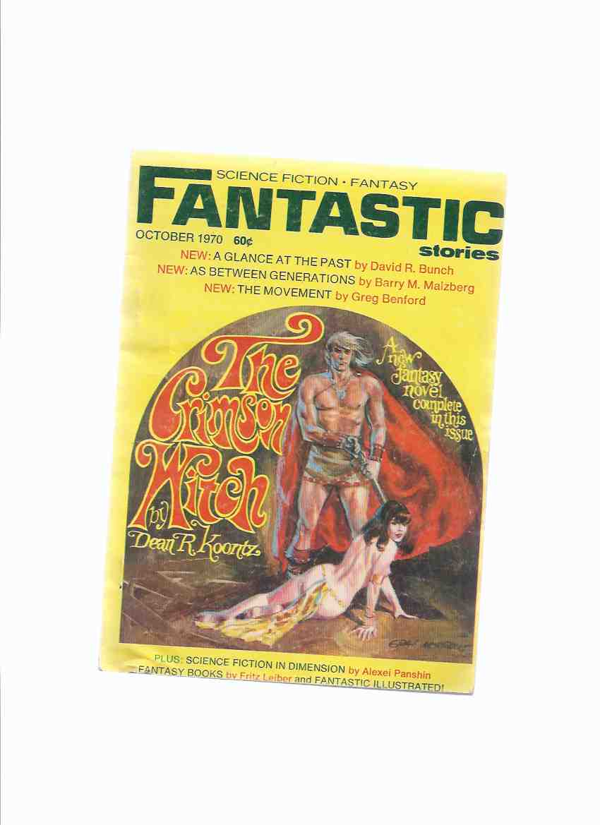 Image for Fantastic Stories:  Science Fiction and Fantasy, October 1970, Volume 20, # 1 (includes:  The Crimson Witch; The Movement; A Glance at the Past; As Between Generations; Spook for Yourself; etc)( Digest Size Pulp )