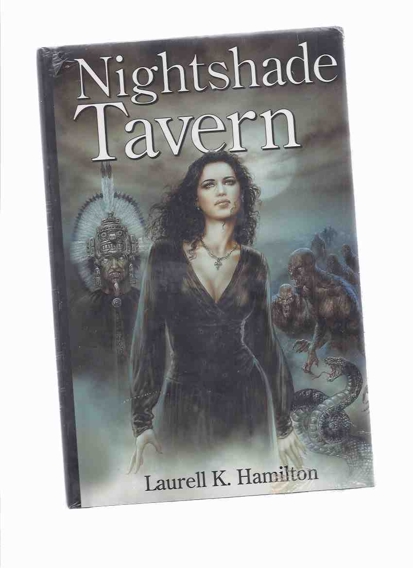 Image for NIGHTSHADE TAVERN: (contains) Obsidian Butterfly /and/ Narcissus in Chains, an Anita Blake, Vampire Hunter Omnibus -by Laurell K Hamilton  (STILL IN SHRINKWRAP)