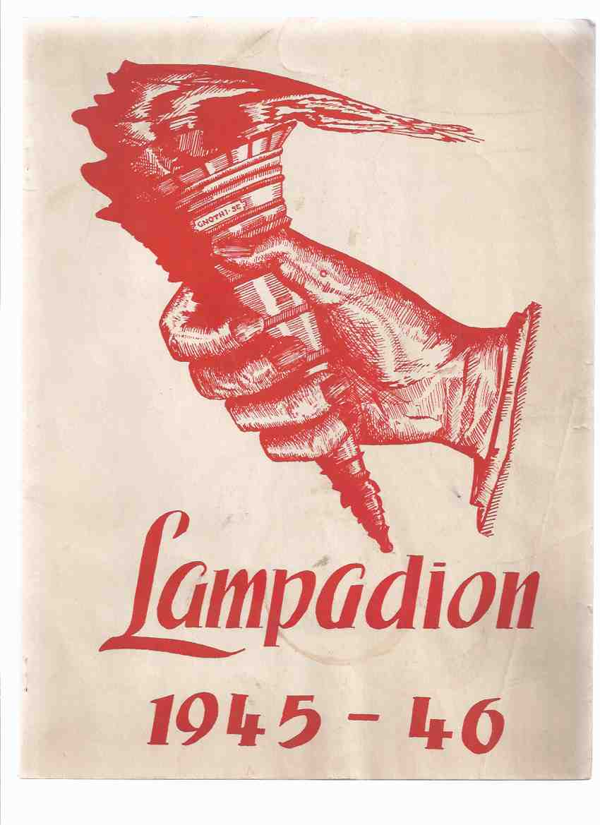Image for Lampadion:  1945 - 46 ( 1945 - 1946 Yearbook for Hamilton Delta Collegiate Institute )( Delta Secondary [ High ] School )( Year Book