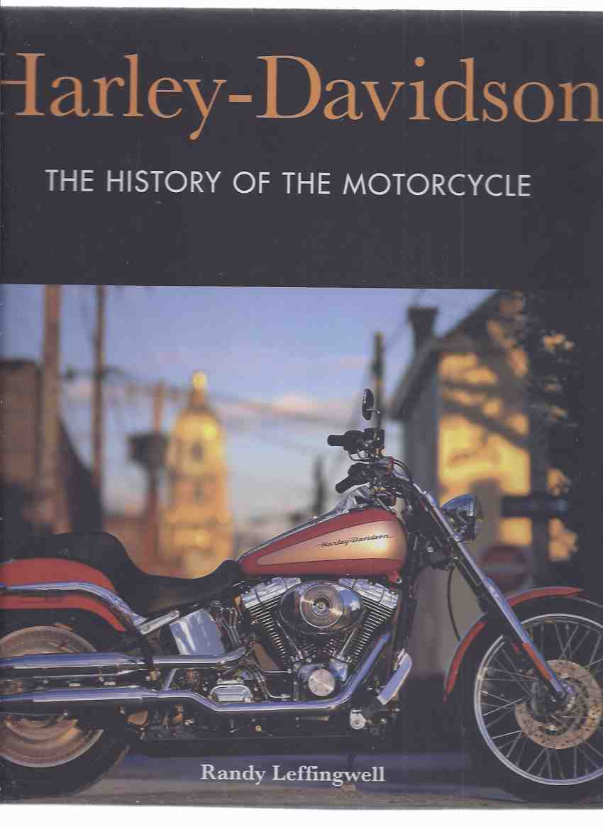 Image for Harley-Davidson:  The History of the Motorcycle (with Heavy Duty DVD )