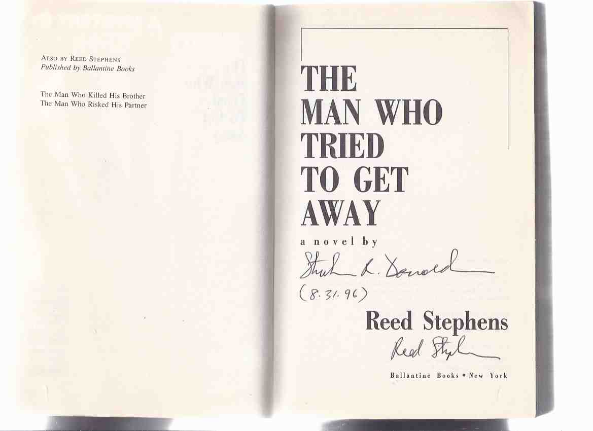 Image for The Man Who Tried to Get Away ---a Signed Copy