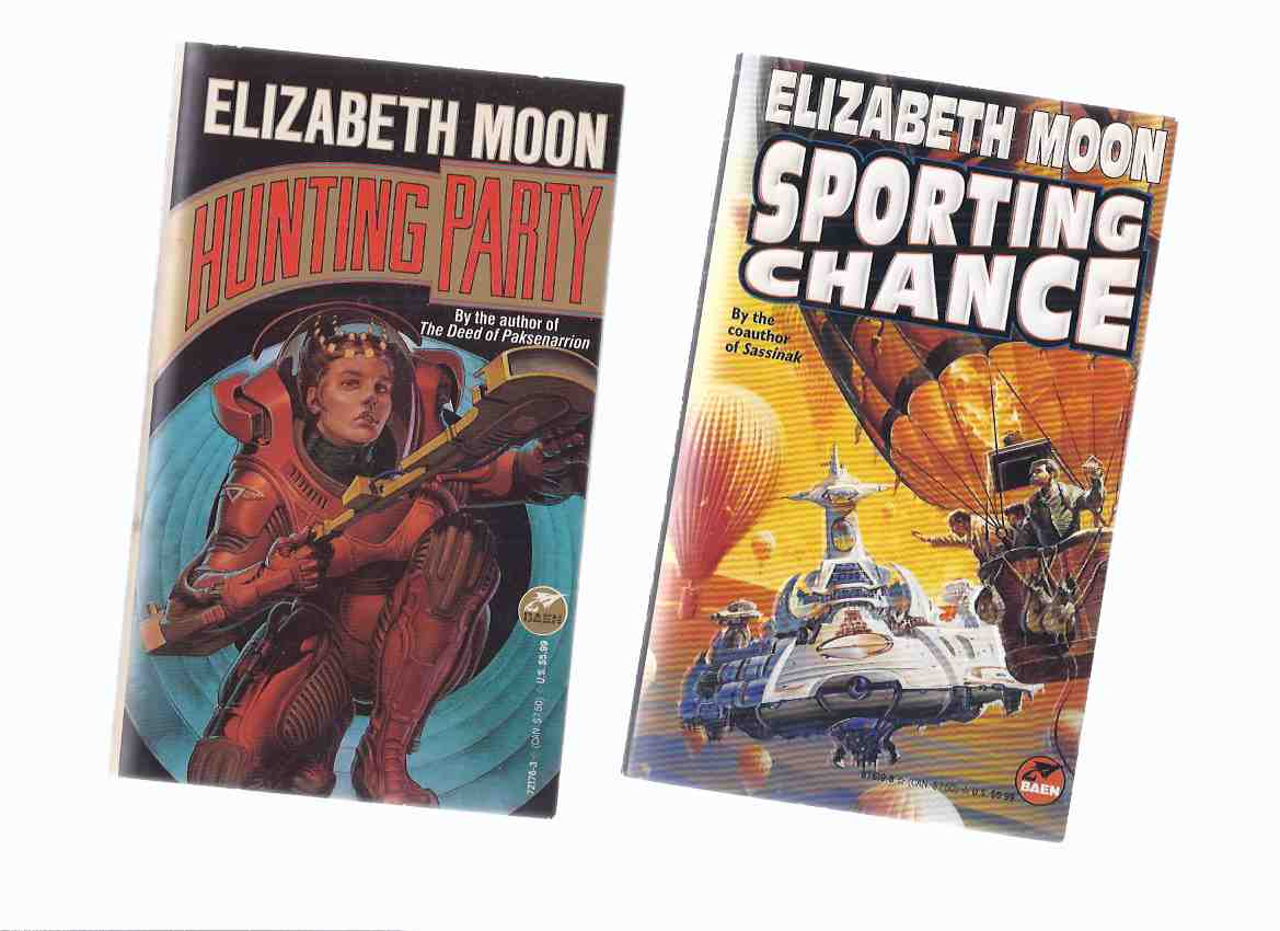 Image for Hunting Party ---with Sporting Chance -book 1 and 2 of the Serrano Legacy Series -by Elizabeth Moon -a Signed Copy ( Volume Two )