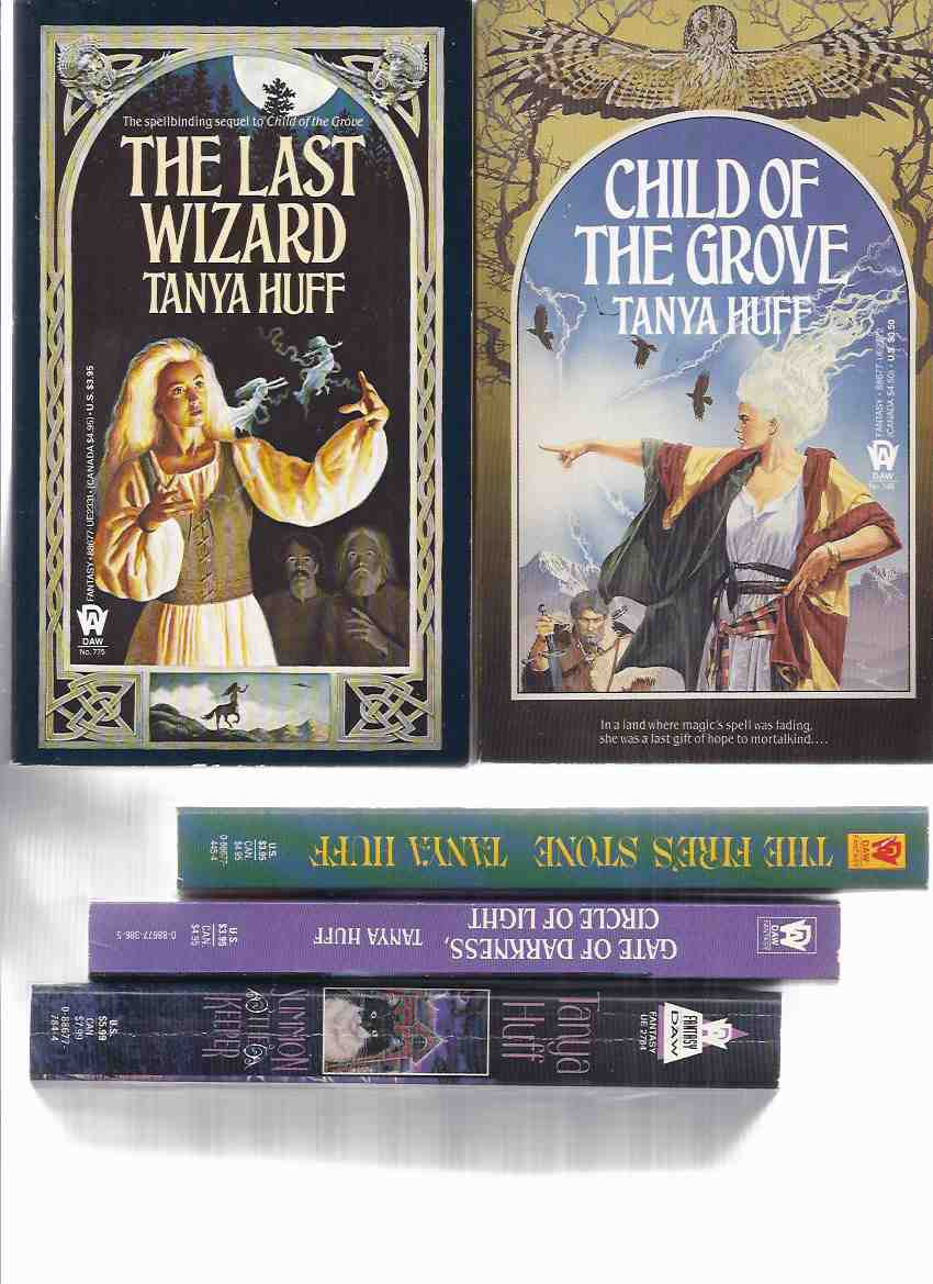Image for 5 Volumes - Child of the Grove /and/ The Last Wizard -Books 1, 2 of Wizard Crystal --with The Fire's Stone; Gate of Darkness, Circle of Light ; Summon the Keeper -by Tanya Huff (one signed)