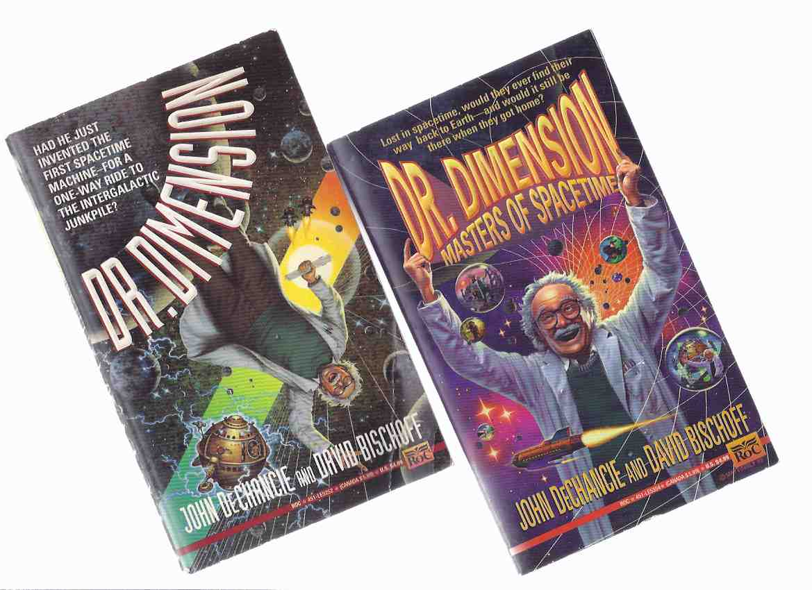 Image for Dr Dimension ---with Dr Dimension, Masters of Spacetime ---Book 1 and 2 -TWO VOLUMES