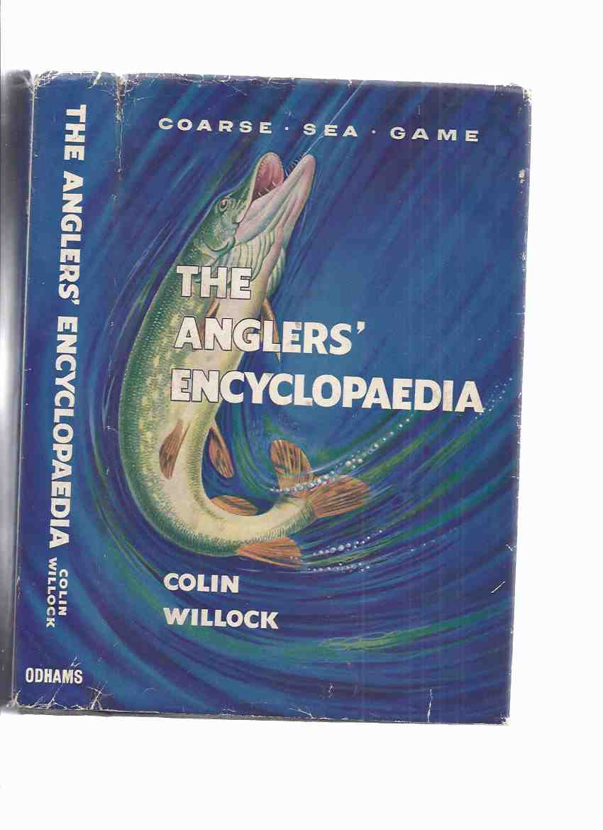 Image for The Anglers' Encyclopaedia ---with an Original Drawing of an Icthyian Horror Attacking a Fisherman ---by Jim Pitts ( Cthulhu Mythos / H P Lovecraft related ) ( Angler's Encyclopedia )