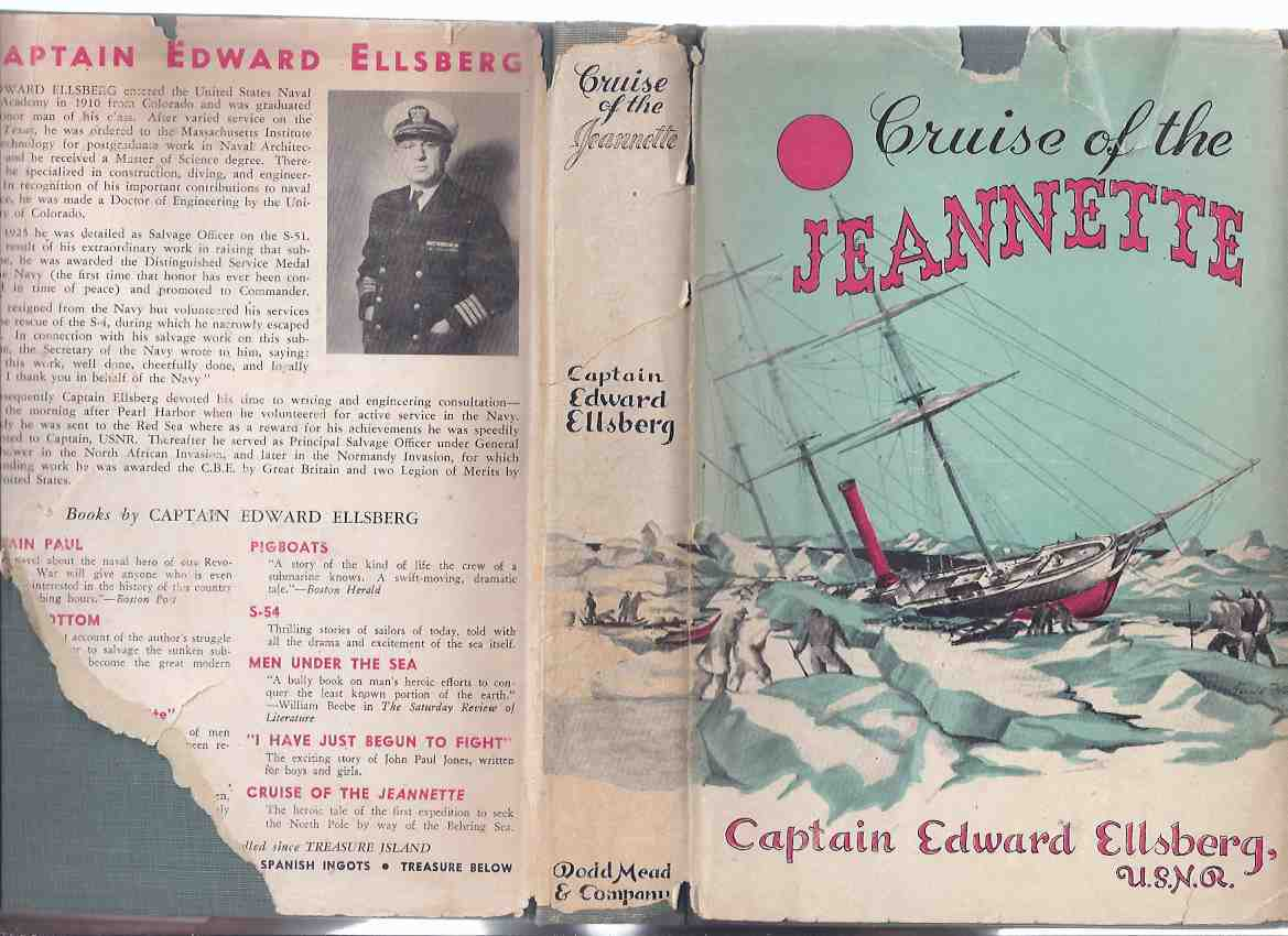Image for Cruise of the Jeannette -by Captain Edward Ellsberg