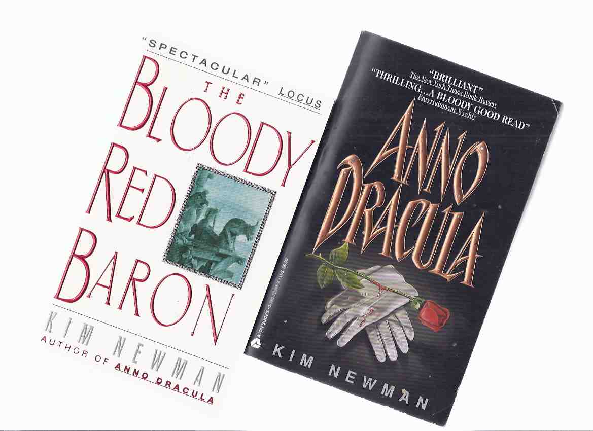 Image for Anno Dracula ---with The Bloody Red Baron -by Kim Newman  (two volumes - one signed )
