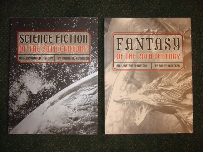 Image for Science Fiction of the 20th Century ---with Fantasy of the 20th Century -TWO VOLUMES ( SF / Twentieth )( Pulps / Movies / TV / Paperbacks / Books / Artists / Authors, etc)