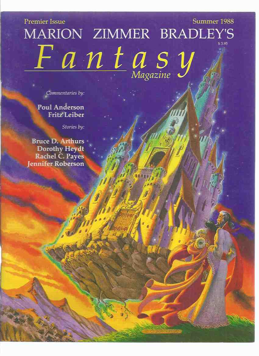 Image for Marion Zimmer Bradley's FANTASY Magazine:  Summer 1988, Volume 1, # 1 ( Premier Issue )( Bradley )