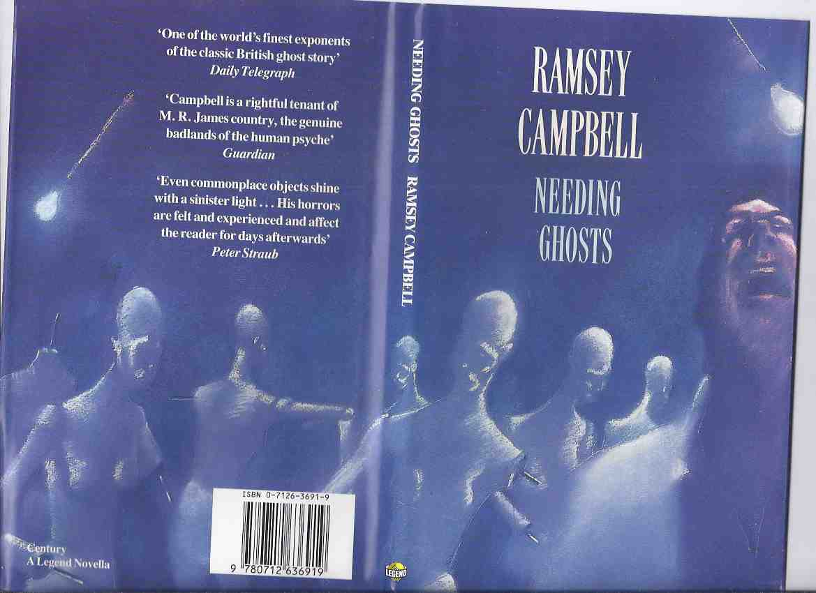 Image for Needing Ghosts -by Ramsey Campbell --a signed Copy