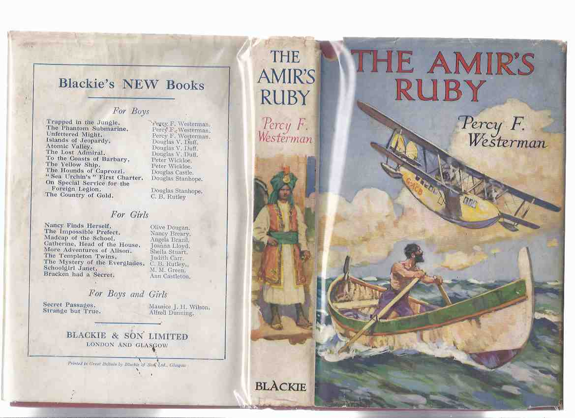 Image for The Amir's Ruby -by Percy F Westerman