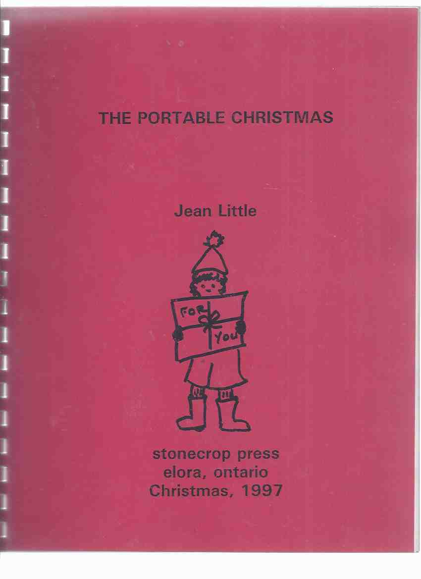 Image for The Portable Christmas -by Jean Little --a Signed Copy