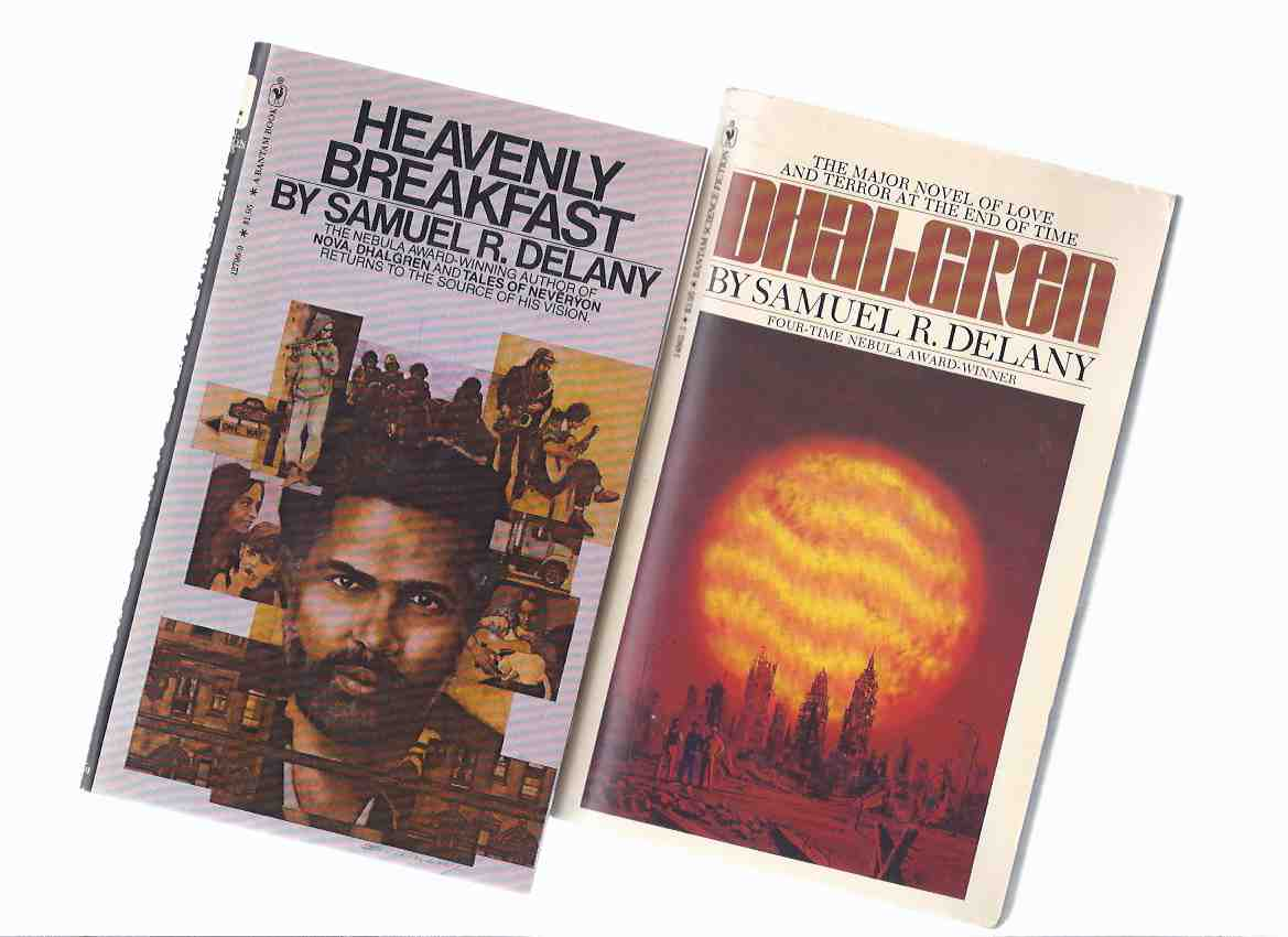 Image for Dhalgren ---by Samuel Delany -a signed Copy ---with Heavenly Breakfast: An Essay on the Winter of Love -by Samual R Delany ---TWO VOLUMES (one signed)