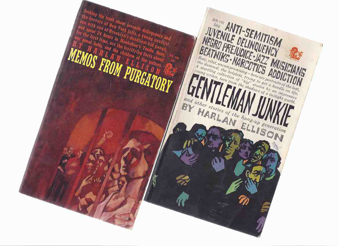 Image for Harlan Ellison:  Gentleman Junkie and Other Stories of the Hung Up Generation -with Memos from Purgatory ---2 Volumes  (includes:  The Time of the Eye; Final Shtick; Night of Delicate Terrors, etc)